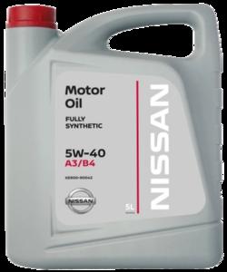 NISSAN Motor Oil 5W40 5л